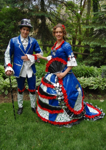 alternative prom dress