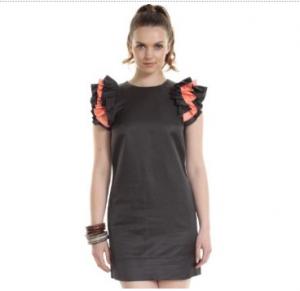 ruffle dress lady gaga style