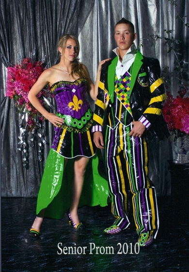 The Worst Prom Fashion Yet Duct Tape Dresses Promaholics