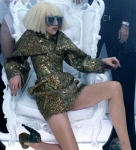 Lady Gaga dress outfit